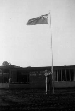 history flag raising(1)
